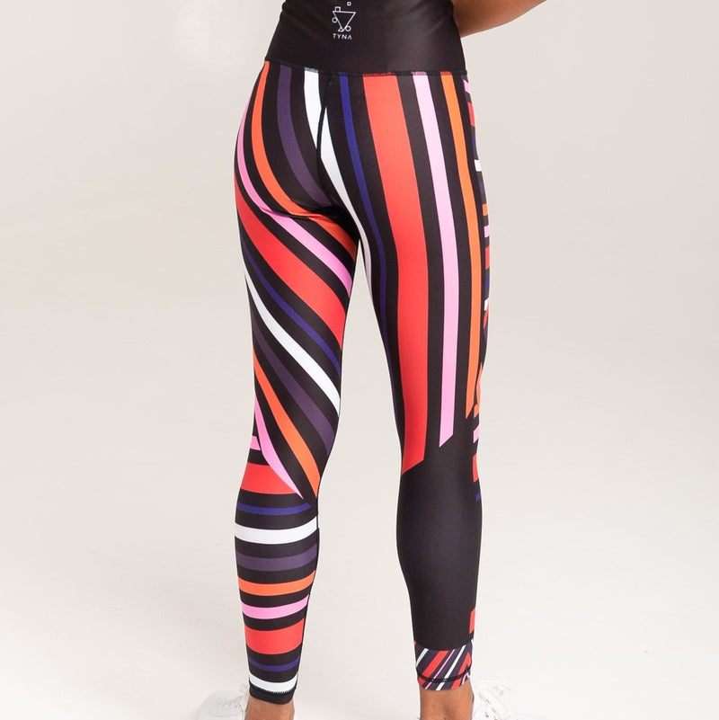 Aso-Oke Vibrant Leggings - What's Your Chic
