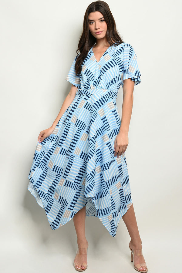 Womens Print Dress - What's Your Chic