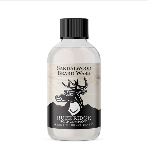 Sandalwood beard wash - What's Your Chic