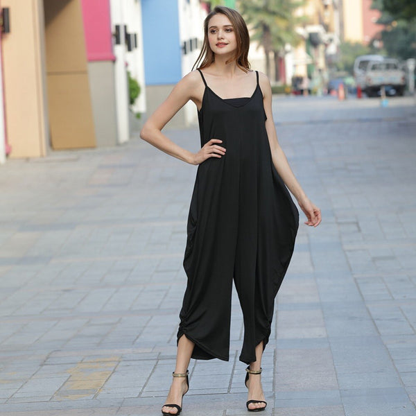 """Cindy's Plans"" casual sleeveless jumpsuit - What's Your Chic"