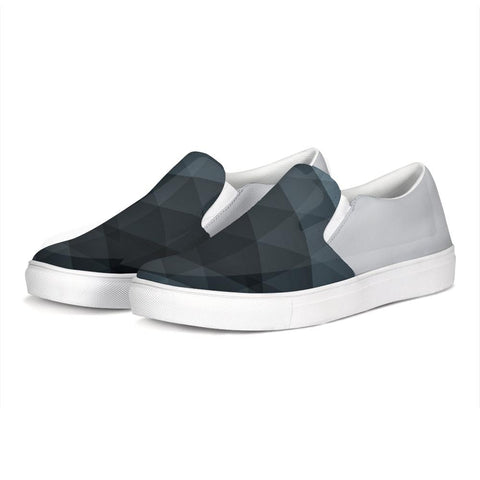 FYC Canvas Slip-On Venturer Casual Shoes - blue/grey (men's and women's sizing)