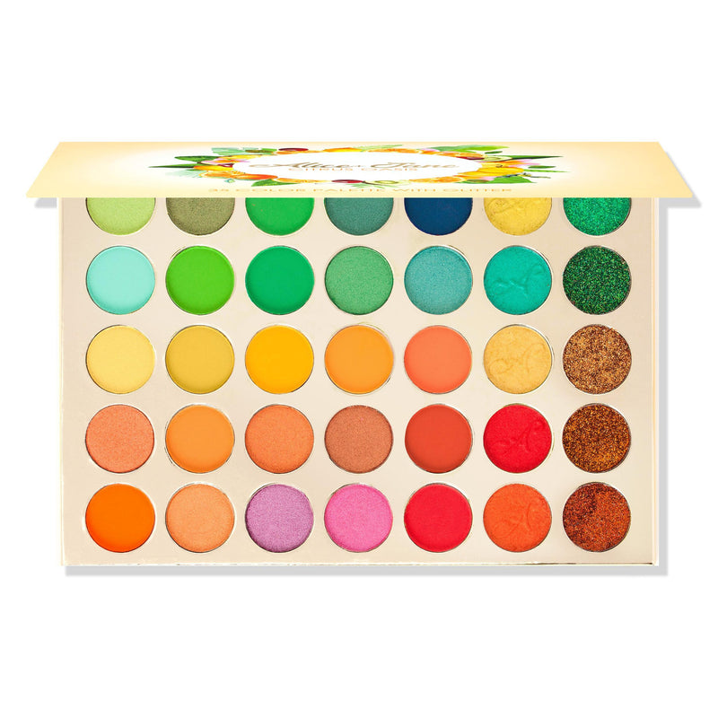 Alice+Jane 35 Color High Pigment Eyeshadow Palette by Evanese - What's Your Chic
