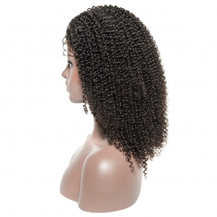 Curly 13x6 lace front human hair wig - What's Your Chic