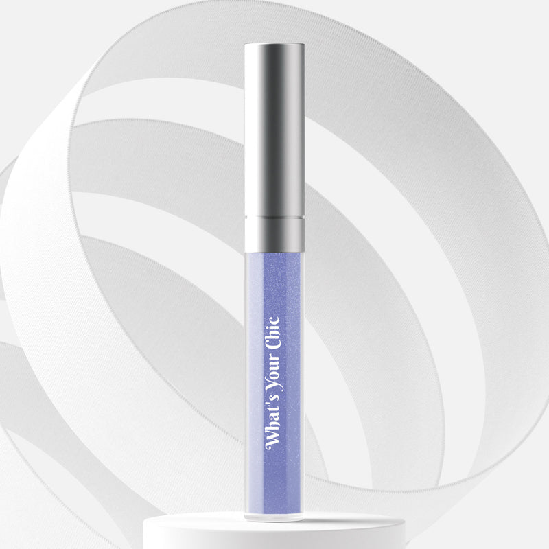 Color-shift lip gloss in Neptune - What's Your Chic