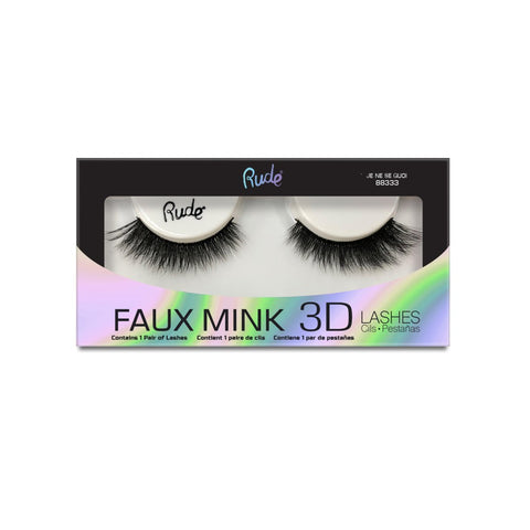 Faux Mink 3D Lashes - Je Ne Se Quoi - What's Your Chic