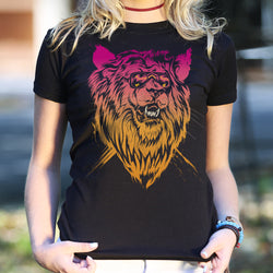 Lion-el Rich-eyes T-Shirt (Ladies) - What's Your Chic