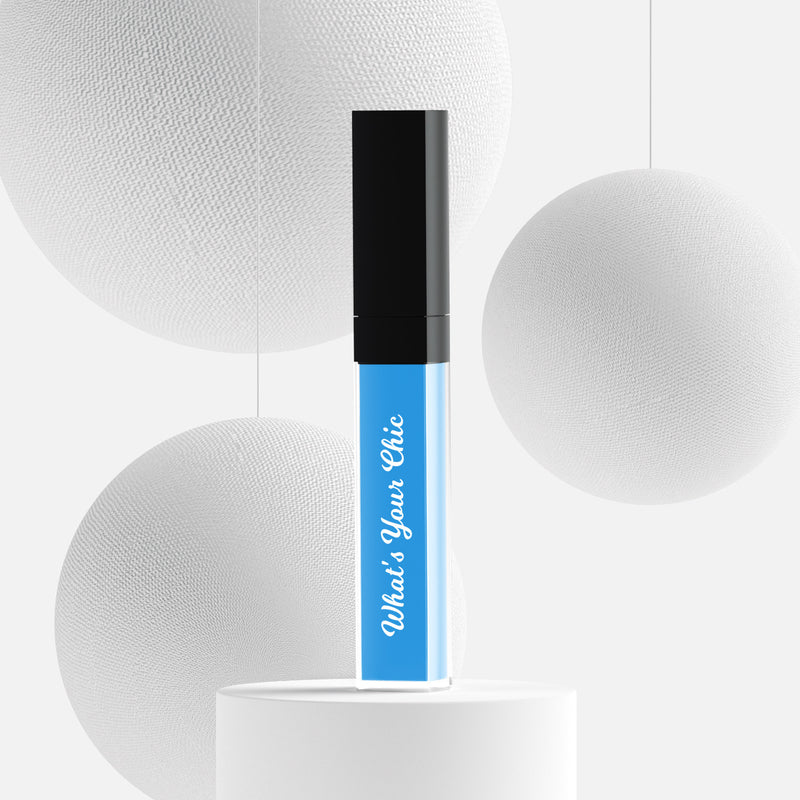 Liquid lipstick in the color Blue Moon - What's Your Chic
