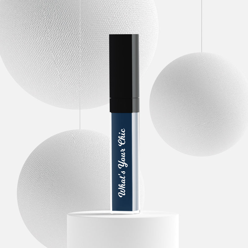 Liquid lipstick in the color Paradise Blue - What's Your Chic