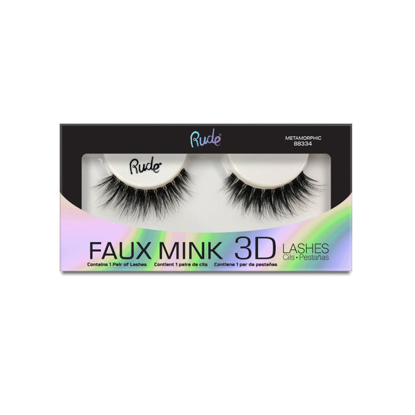 Faux Mink 3D Lashes - Metamorphic (2-pack) - What's Your Chic
