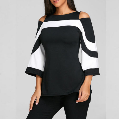 Retro loose sleeve blouse - What's Your Chic