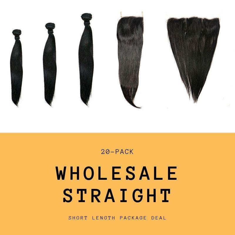 Brazilian Straight Short Length Package Deal - What's Your Chic