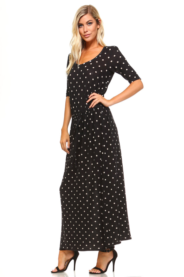 Women's Printed Hatchi Maxi Dress - What's Your Chic