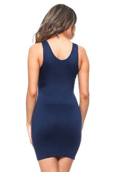 'Anytime' seamless tank dress - What's Your Chic