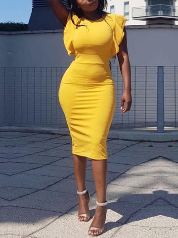 'One Wish' bodycon dress