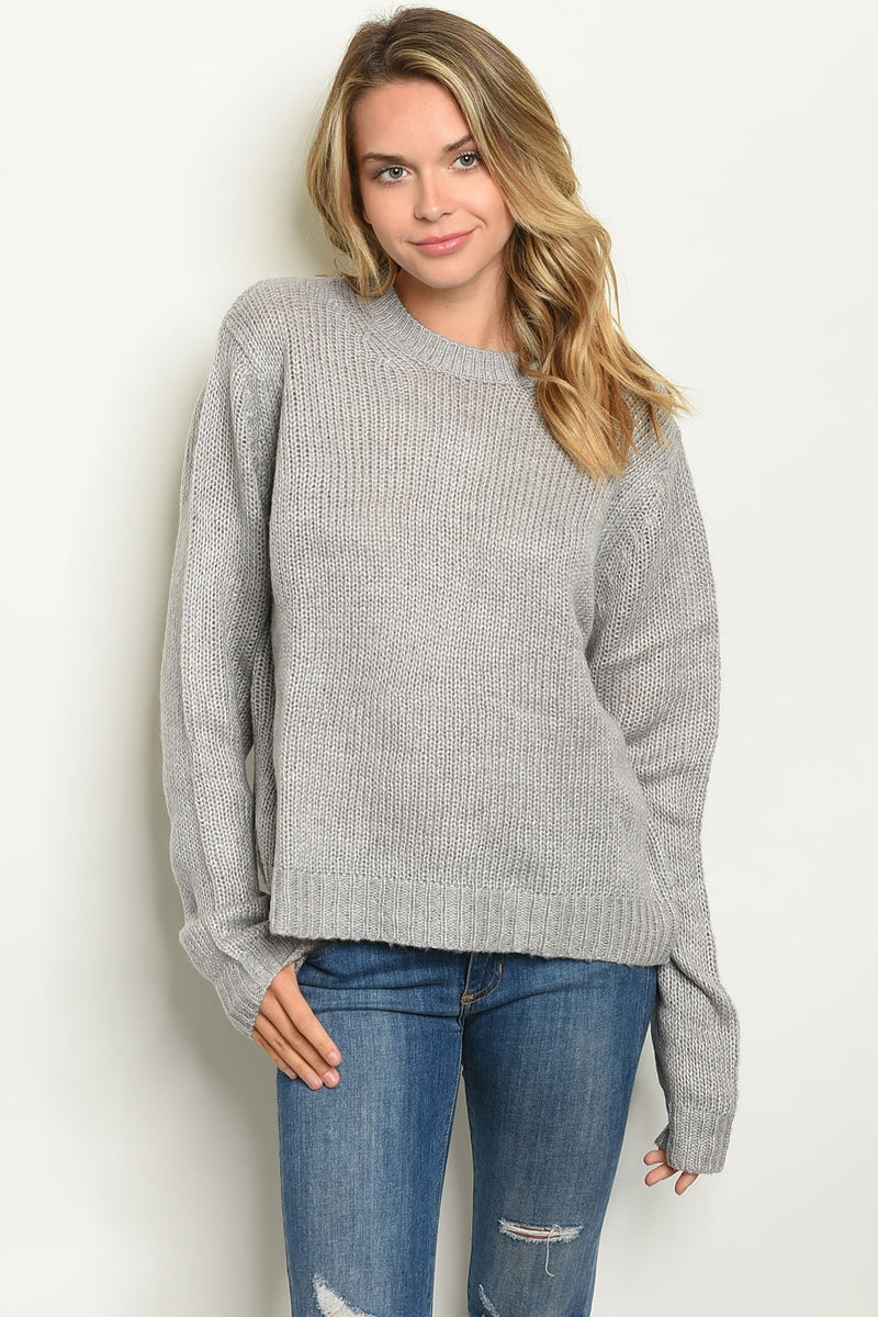 Shop the Trends Knit Sweater - What's Your Chic