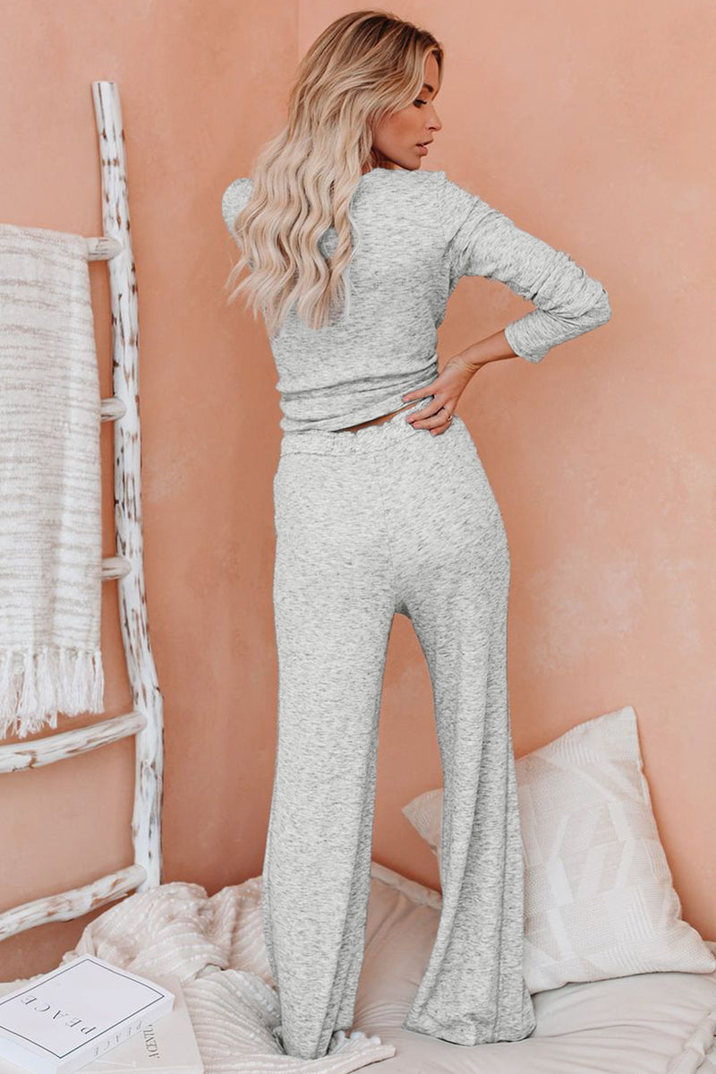 Cotton Modal Shirt and Pants Loungewear - What's Your Chic