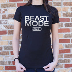 Beast Mode On T-Shirt (Ladies) - What's Your Chic