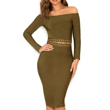'So Over You' bandage dress