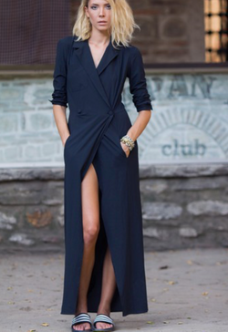 """Sleepless"" shirt dress by Bastet Noir - What's Your Chic"