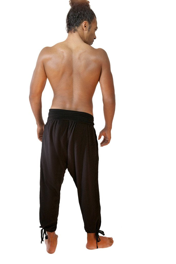 Men's Yoga/ Kung Fu Pants  (Long) - What's Your Chic