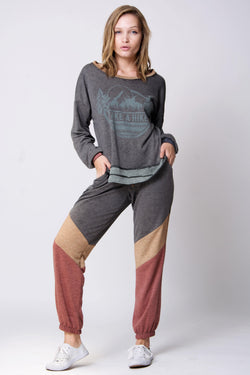 Toledo Mix media pant by Wanderlux - What's Your Chic