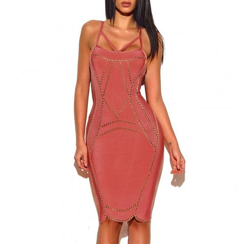 'Shore to Shore' bandage dress