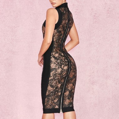 'Rally' lace bodycon - What's Your Chic