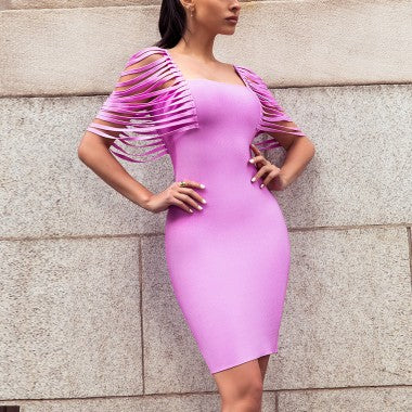 Loyola Street bandage dress - What's Your Chic