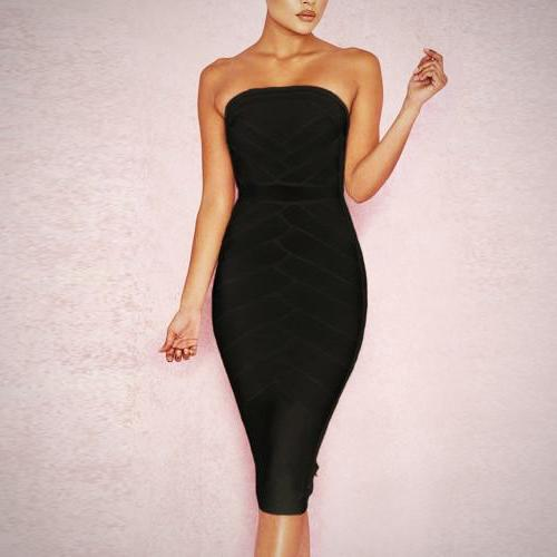 Blackout bandage dress - What's Your Chic