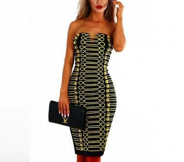 Respect bandage dress - What's Your Chic