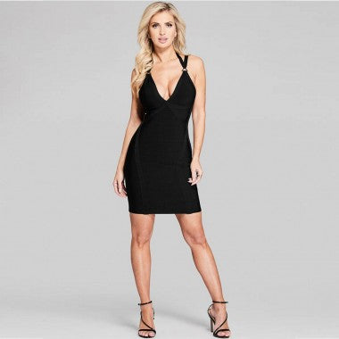 Grand Haven bandage dress in black - What's Your Chic