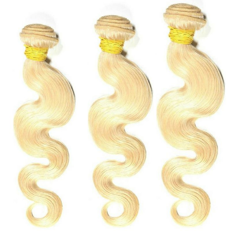 Russian Blonde Body Wave Bundle Deals - What's Your Chic