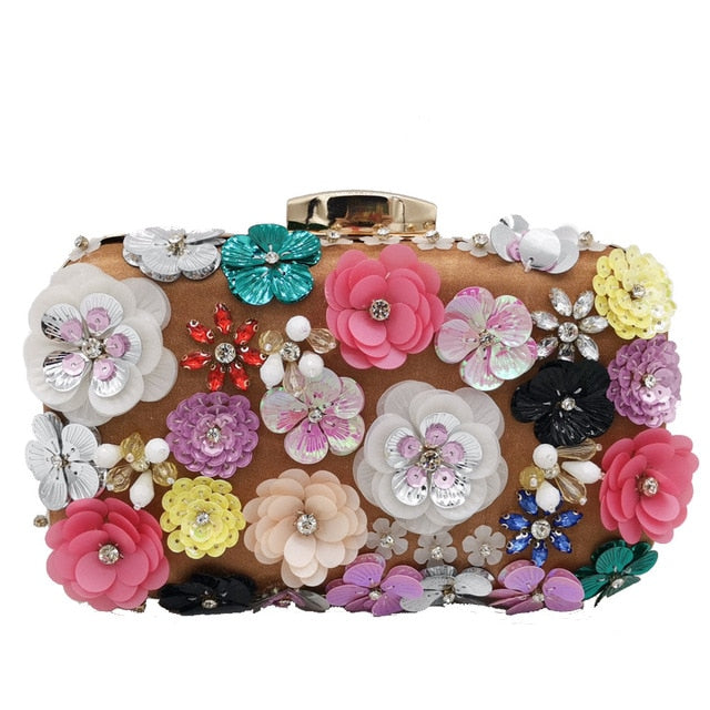 Floral Evening Bag - What's Your Chic