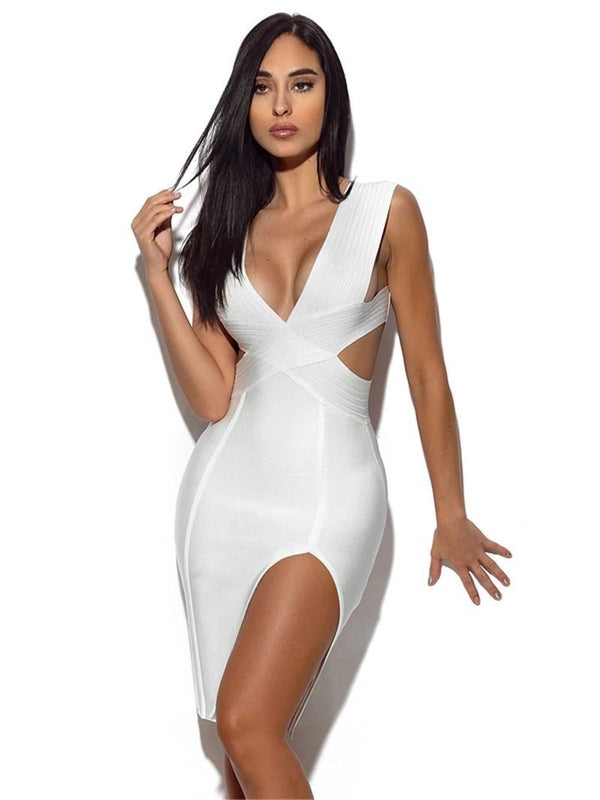 'Entitled' cocktail bandage dress - What's Your Chic