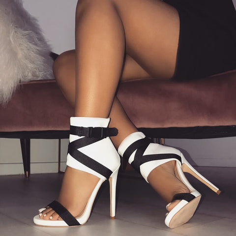 'This Day' high heel sandals - What's Your Chic