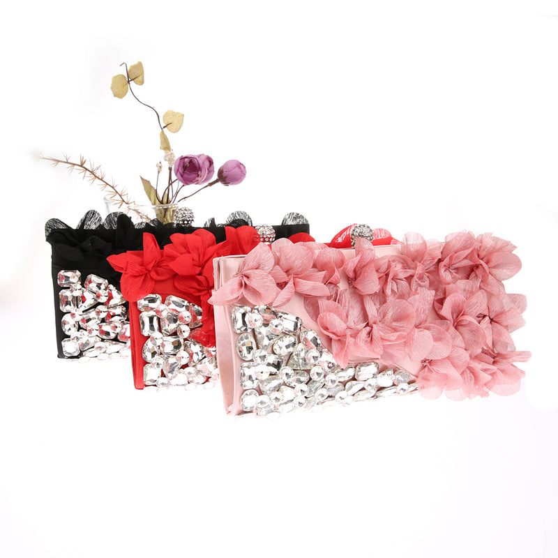 Elegant  Bling Diamond Day Clutch - What's Your Chic