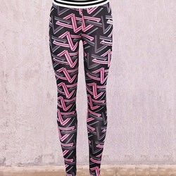 Pink fitness 'On One' leggings - What's Your Chic