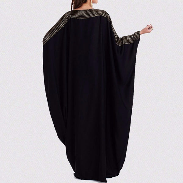 Sleeve design batwing dress - What's Your Chic