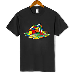 "100% cotton short sleeve ""Magic Square"" t-shirt - What's Your Chic"