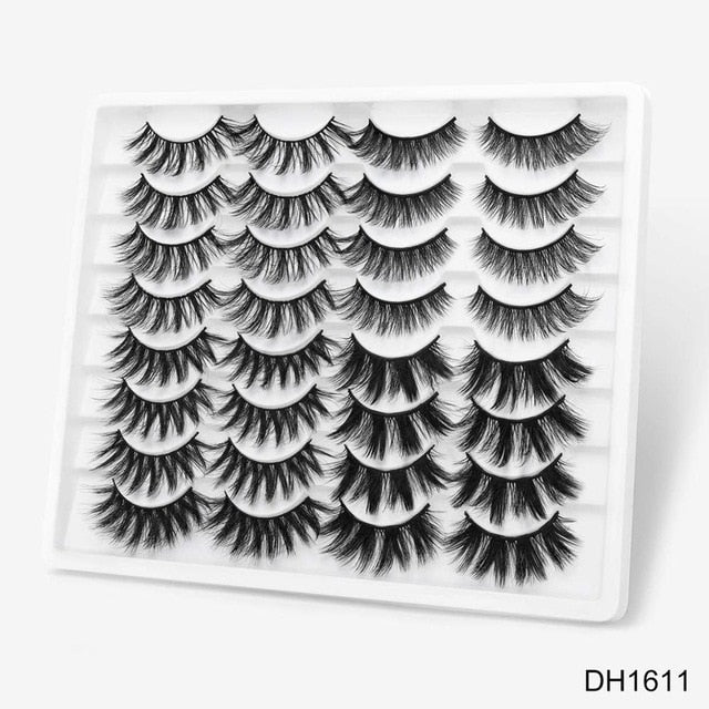 3D mink false dramatic lashes (16 and 20-piece sets) - What's Your Chic
