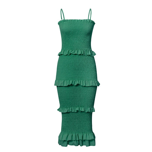 Needle Island fashion sling dress - What's Your Chic