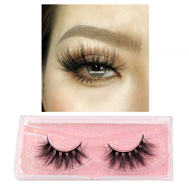 5D mink eyelashes (reusable) - What's Your Chic