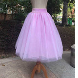 'Destinations' tulle skirt