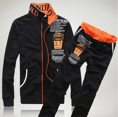 'Eastbound' long sleeve sweatsuit set - What's Your Chic