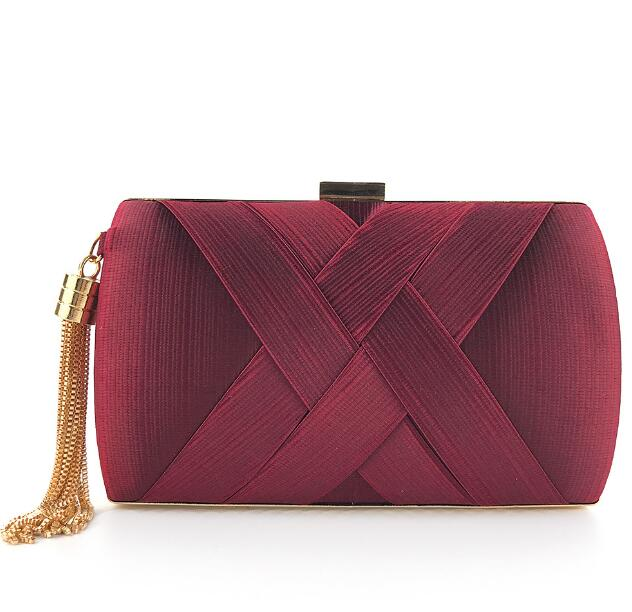 'Textured' day-to-night mini clutch - What's Your Chic