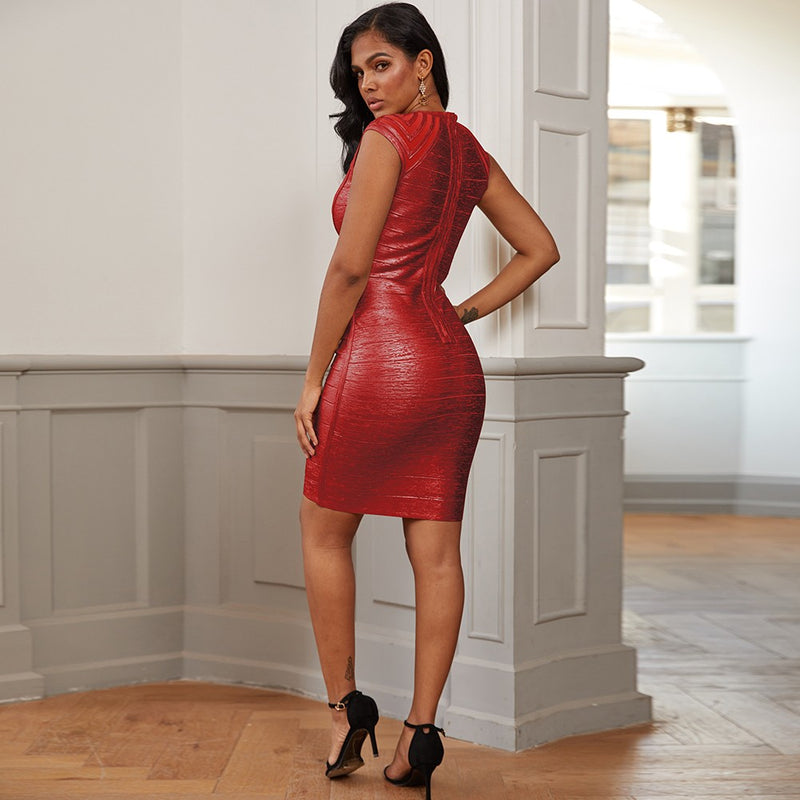 If I Had A Heart bandage dress - What's Your Chic