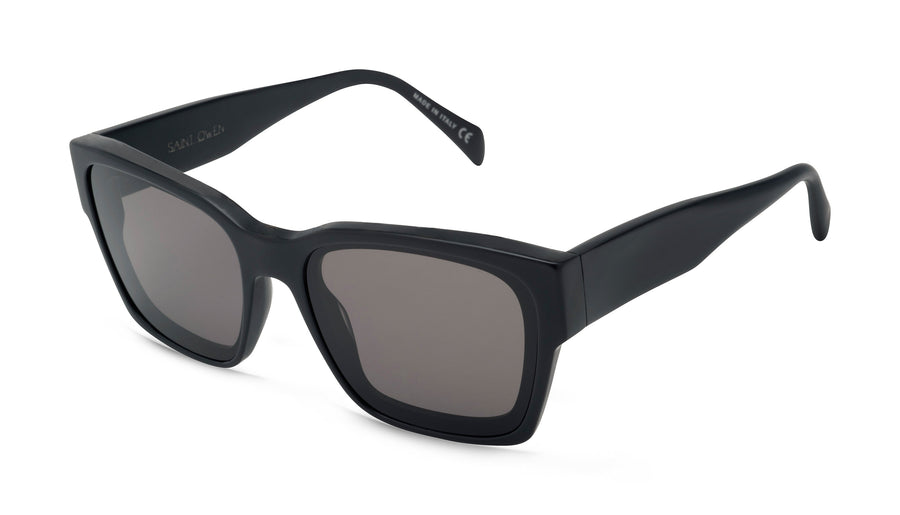 Matte Black FEELGOOD Frame, Polarized Lens