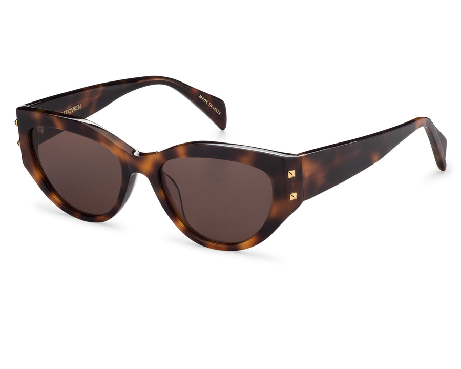 MONROE Tortoise | Brown