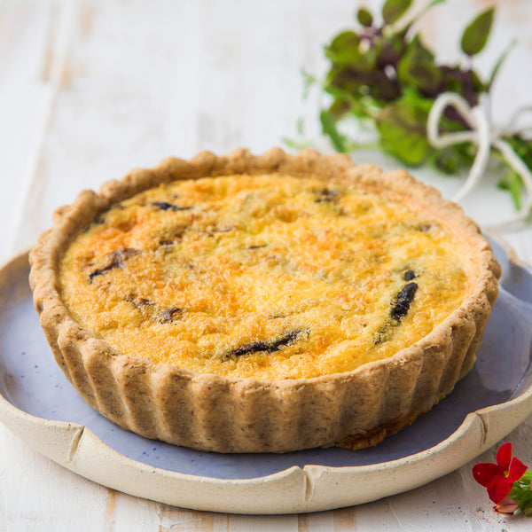 Quiche de Mix de Cogumelos