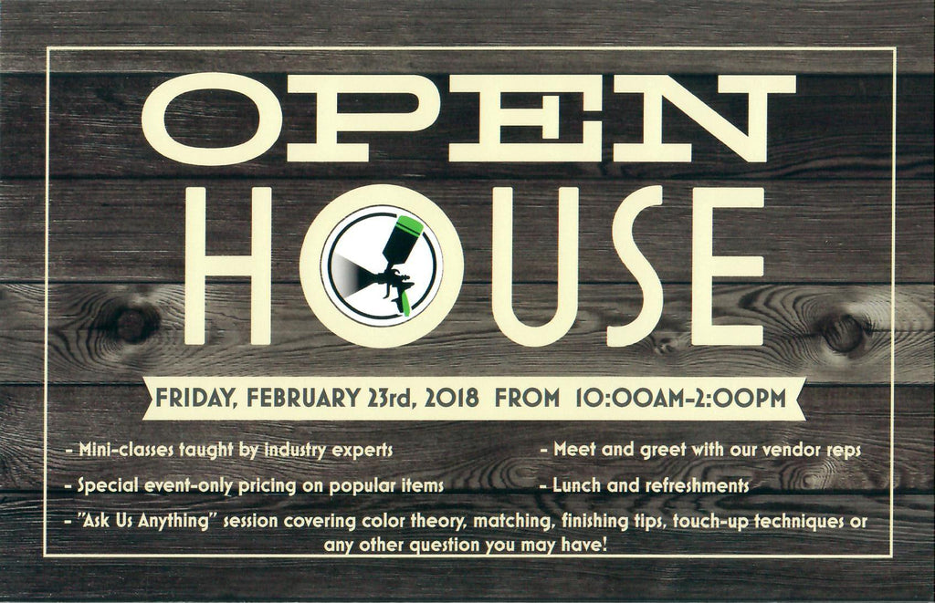 Finisher's Warehouse OPEN HOUSE